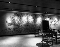 PROJECT STARBUCKS RESERVE - THE SUMATRAN TIGER MURAL