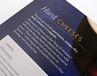 Cheese Pairing Booklets