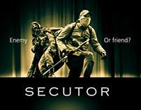 """Secutor"" poster"