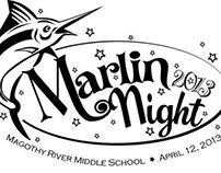 Magothy River Middle School fundraiser logo.
