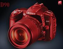 Eiko Ishioka inspired Nikon ad_ Student Work