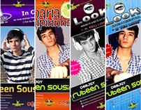 Flyer/Poster Bundle for DJ Rubeen Sousinha