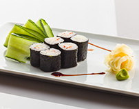 Food advertising campaign, client: L'Altro Gusto sushi