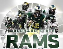2015 Colorado State Football Poster