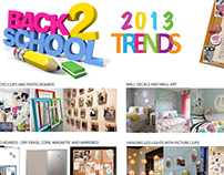 2013 Back To School Trends Page