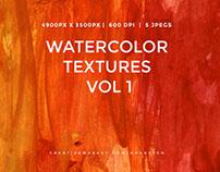 Handmade Watercolor Textures