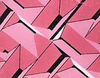 Geometric Woodblock Prints