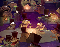 Frog's Night Out