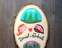 Gabrielle & Daniel Art