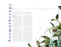 Aromatherapy Editorial Spreads