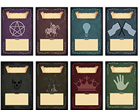 Card diagrams for cardgame