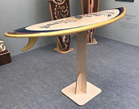 Flat Pack Surfboard Display Stand