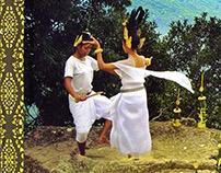 Sacred Dancers of Benteay Srei-book illustration