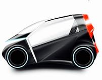 Shared Mobility 2030.  Interior & Exterior Design