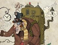 Steampunk Time Explorer