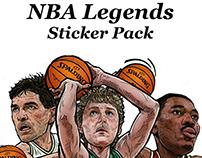 NBA LEGEND STICKER PACK