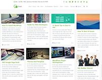 Blog Full-Width Page - Forum WordPress Theme