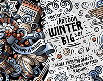 WINTER Cartoon Vector Pack