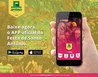 Landing page   App Festa de Santo Antônio 2017