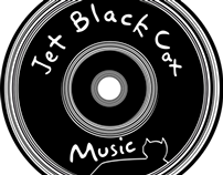 Jet Black Cat Music Shop Signage