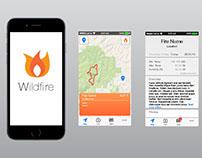 Wildfire App Design