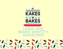 Kakes n' Bakes Brand ID