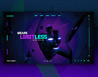 Limitless Concept Web Page Design
