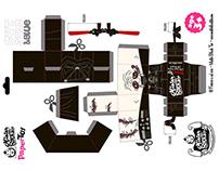 Darth Vader - Paper Toy