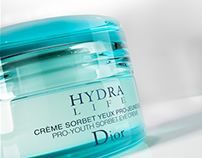Dior Hydra Visual /// 3D Creative visuals and Advert
