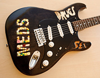 Typographic guitar project