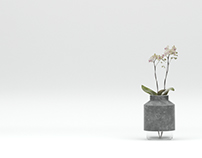 3d model+render Hanne Willmann Vase.