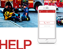 HELP - a life-saving app for emergency situations