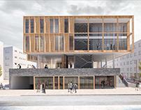 Merzifon Belediyesi İş ve Yaşam Merkezi