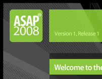 ASAP 2008 Software Installer Interface