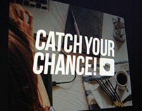 Catch Your Chance — Web design & Brand Identity