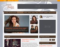 Terra.com's Thalia page
