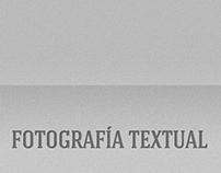 Fotografía Textual