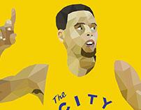 NBA Player Low Poly