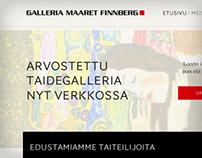 Maaret Finnberg. An Online Art Gallery