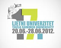 Visual identity for summer university