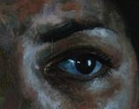 start of a portrait