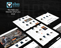 elbes- website - UI/UX