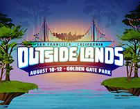 Outside Lands 2018 Identity