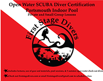 First Stage Divers Advertisement