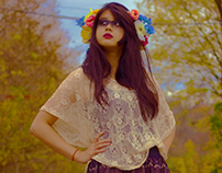 Flower Girl Mirrored