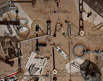 Poster. Brian Eno-Paleosonic.