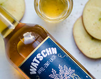 WATSCHN - Apple Cinnamon Liquor