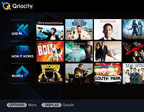 Navigation Design: Sony Qriocity/Bravia Video Service