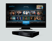 YouView IPTV User Interface