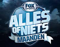 FOX Sports - Alles of Niets Maanden logo